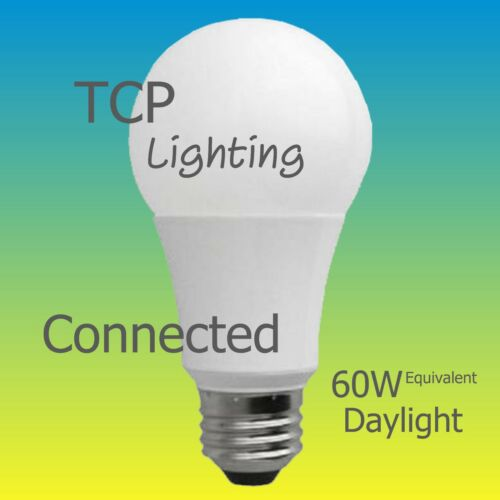 A19 BR30 5000 2700K Daylight TCP Connected LED 60W 65W Equivalent Soft White