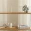 miniature 5 - Wooden-Metal-Display-Floating-Shelves-Wall-Shelf-Wall-Mounted-Storage-Rack