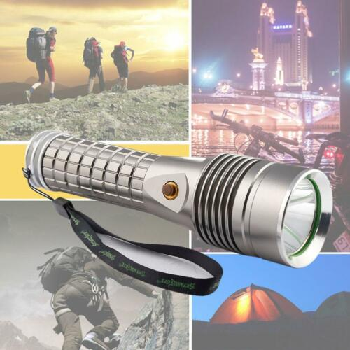 Aluminum High Power Lamp Light Torch LED Brightest 5 Modes 18650 Flashlight TR