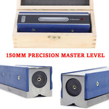 6 150mm Master Precision Level In Fitted Box Machinist Tool 002mmm Accuracy