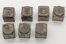 Atf Letterpress Type Ornaments 60 Pt Type Body