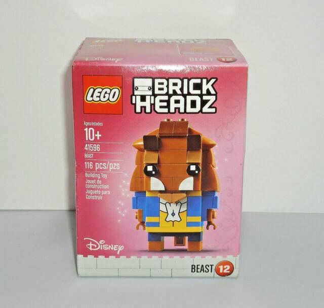 LEGO Brick Headz Beast 41596 Building Kit Beauty & The Beast