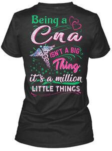 Premium-Awesome-Cna-Being-A-Isn-039-t-Big-Thing-It-039-s-Gildan-Women-039-s-Tee-T-Shirt