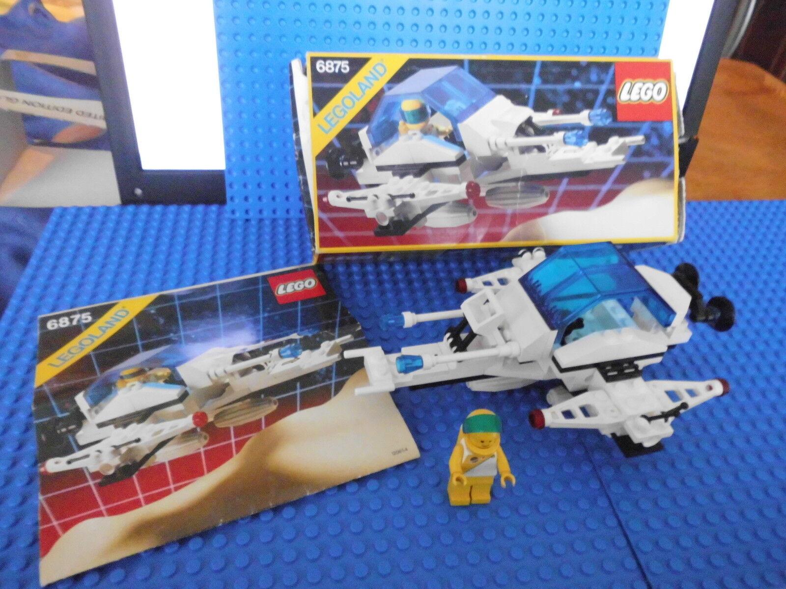 LEGO - 6875 - Space Futuron - Hovercraft 1988 KOMPLETT inkl. OBA und OVP