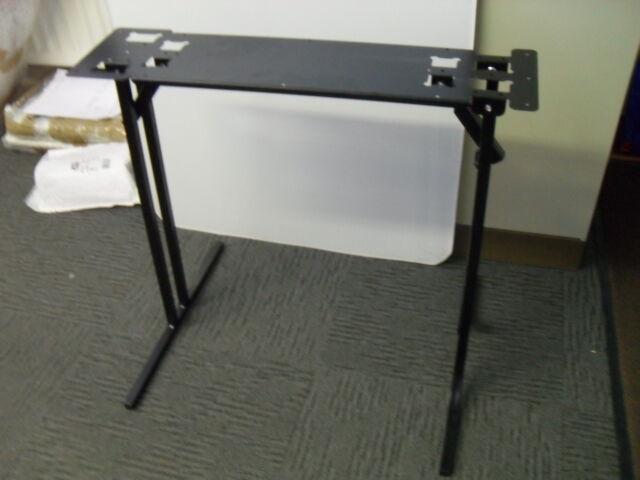 Pair of caravan or motorhome 650mm folding free standing table legs leg FSTD1