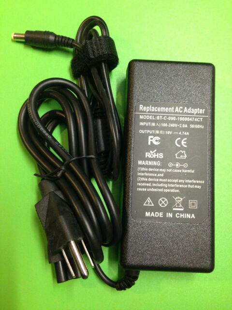 90W AC adapter charger + cord for Acer Aspire 5000 5515 5532 5534 6410Z Canada