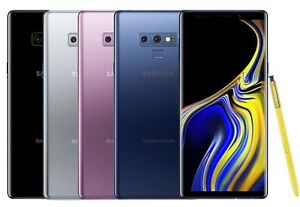 Samsung Galaxy Note 9 128GB SM-N960U Verizon T-Mobile AT&T Sprint GSM Unlocked