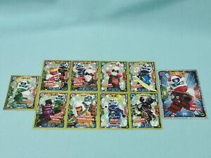 Lego-Ninjago-Serie-5-Trading-Card-10-x-Limitierte-Auflage-LE1-LE5-LE8-LE24-LE27