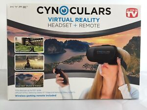 9ab2f051d48c Image is loading Cynoculars-Virtual-Reality-Headset-amp-Remote-As-Seen-