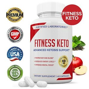 Fitness Keto Pill Weight Loss Diet Pills BHB Advanced Ketogenic Supplement