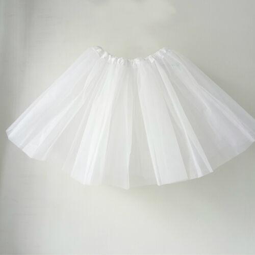 Women Short Tutu Vintage Petticoat Crinoline Underskirt Wedding Dress Skirt Slip