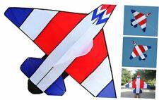 Hengda kite Long Tail Cartoon Fighter Kites The Plane Kite for Children 1.5m wit