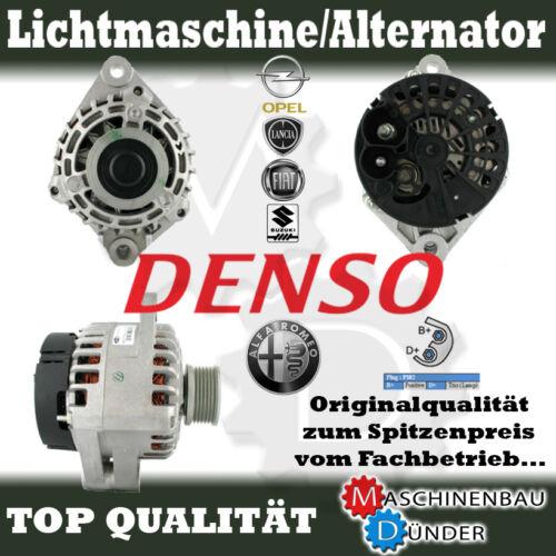 OPEL ASTRA VECTRA SIGNUM ZAFIRA FIAT LANCIA 105A DENSO LICHTMASCHINE GENERATOR