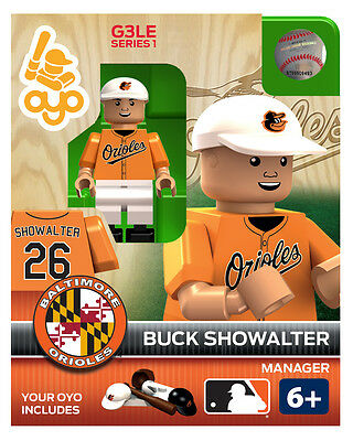 Buck Showalter OYO Manager Baltimore Orioles MLB Figure NEW G3