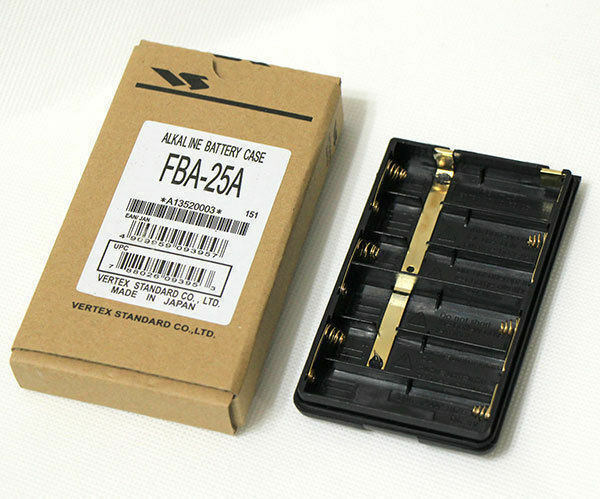 FBA-25A Battery Case For Yaesu VX-150/110/400 FT-60R/E