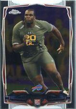 Topps Chrome Football 2014 Rookie Card #119 Cyrus Kouandjio - Buffalo Bills