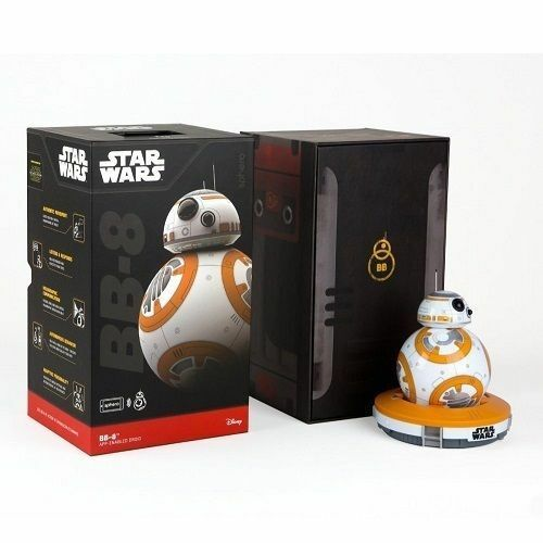 Star Wars Force Awakens Sphero BB 8 App-Enabled Droid Toy Interactive Spero New