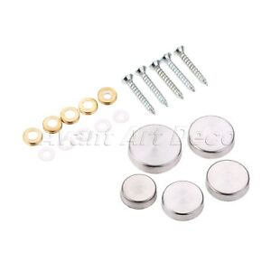 16 25mm Stainless Steel Screw Caps Mirror Nails Advertisement