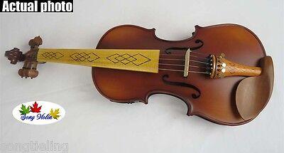 Brown color 5 strings 4/4 electric violin Acoustic violin