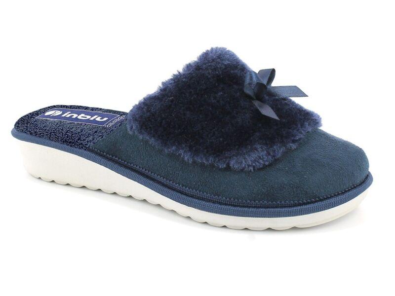 Pantofola Donna Ci 73 Blu
