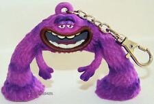 NEW Disney Store Monsters University Inc. 3D Plastic Clipon Keychain ART Monster