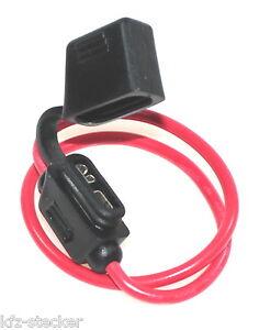 3x KFZ LKW Sicherungshalter Flachsicherung Sicherung Halter wasserdicht 1,5mm²