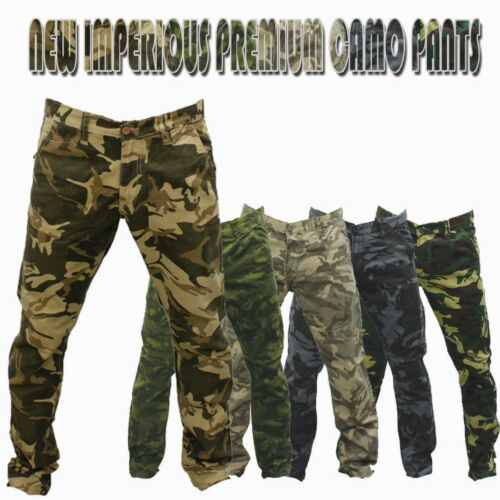 New Men/'s Premium Imperious Casual Military Army Camouflage Camo Work Pants IMP