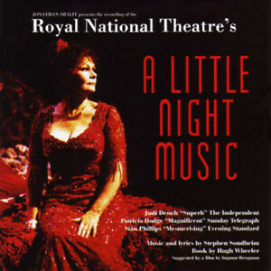 Original-Soundtrack-A-little-night-music-CD-Stephen-Sondheim-Judi-Dench