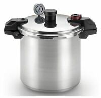 High Pressure Cooker Canner Tfal Pot Adjustable Psi 22 Quart Aluminum Canning