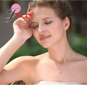925-Sterling-Silber-Silberkette-MIT-Anhaenger-Halskette-Geschenk-Kette-Damen