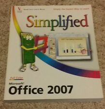 Microsoft Office 2007 Simplified, Sherry Willard Kinkoph, Good Book