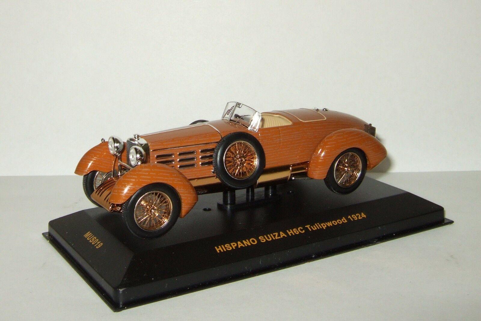 1 43 Ixo Museum HISPANO SUIZA H6C Tulipwood 1924 Mus 019