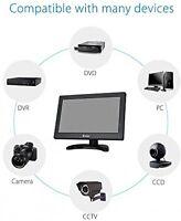 Multi Video Hd Tft Lcd Monitor With Hdmi Vga Bnc Av Input For Pc Dvr Cctv Camera
