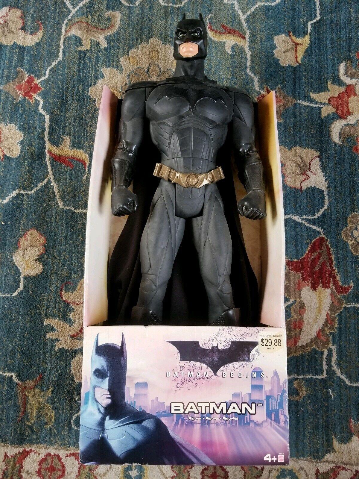 2005 Mattel  DC Batuomo Begins Dark Knight azione cifra 30 nuovo IN scatola