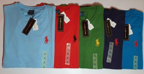 New RALPH LAURAN demi T-shirt manches pour hommes