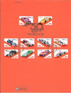 1831-50c-Forever-Hot-Wheels-5321-5330-Souvenir-Page