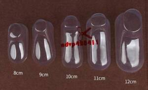 Details about  /Clear Plastic Baby Feet Display Booties Shoes Socks PVC  10PCs