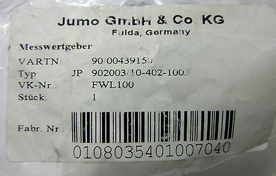 Electrical Equipment & Supplies Jumo Messwertgeber Jp 902003/10-402-1003