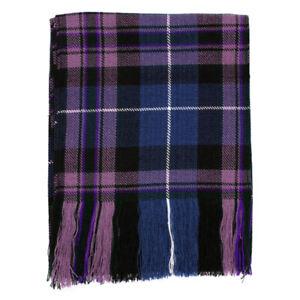 Nouveau Femme Pride Of Scotland Scottish Tartan Budget écharpe 100% Laine Acrylique-afficher Le Titre D'origine