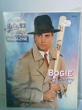 New York Mets Vintage 93 Magazine Bogie Casablanca Cover Line COLLECTOR ED.
