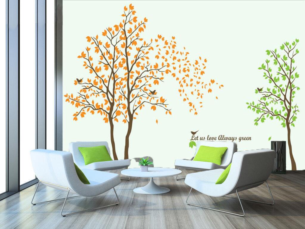 3D Cartoon Tree 837 Wallpaper Mural Paper Wall Print Wallpaper Murals UK