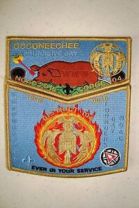 OA-OCCONEECHEE-104-2-PATCH-FOUNDERS-DAY-HUNGER-GAMES-100TH-ANN-2015-NOAC-FLAP