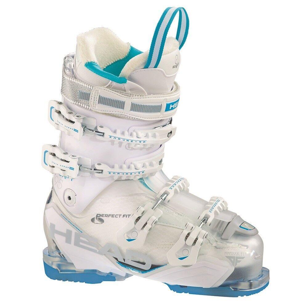 2016 Head Adapt Edge 95 W Trsp White bluee Women's Ski Boot