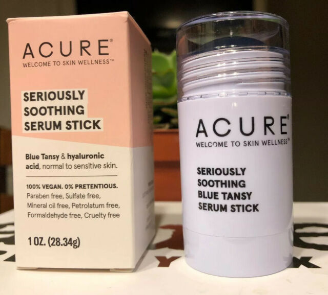 Acure Seriously Soothing Blue Tansy Night Oil New In Box