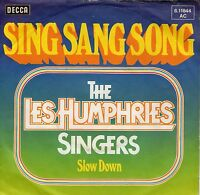 EUROVISIONsingle 1976 LES HUMPHRIES SINGERS -SING SANG SONG ,7inch,45/Umin