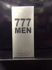 777 MEN PERFUME 3.4 OZ / 100 ML FOR MEN 777 NEW IN BOX NEVER USED FOR HIM HOT