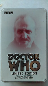 BBC Video DOCTOR WHO The Master Ltd Ed Tin Set VHS COLONY SPACE THE TIME MONSTER