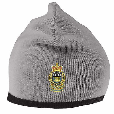 Royal Army Ordnance Corps Beanie Hat with Embroidered Logo