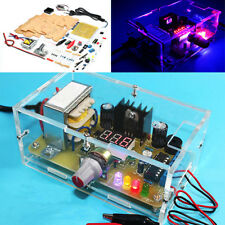 Geekcreit® EU Plug 220V DIY LM317 Adjustable Voltage Power Supply Board Kit With
