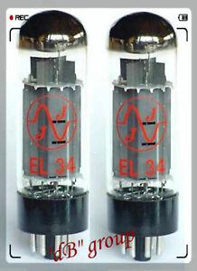 2x EL34 JJ-Electronic COPPIA DUET PAIR selezionate, MATCHED